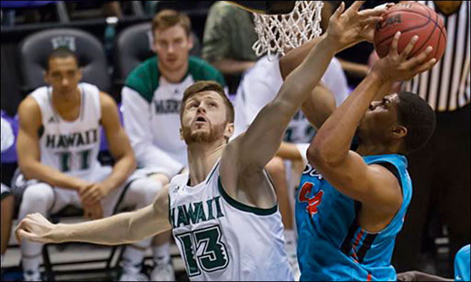 Hawaii beats Oregon State 79-73