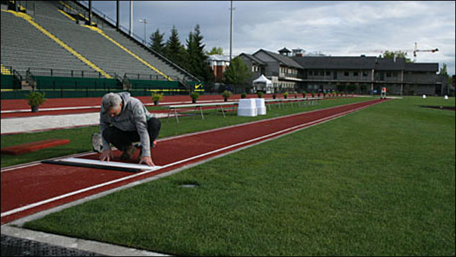 Jobs: Care and feeding of Hayward Field
