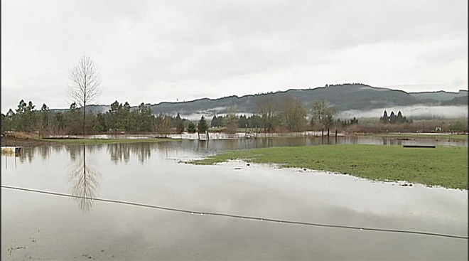 Heavy rains put Western Oregon on flood watch - 2