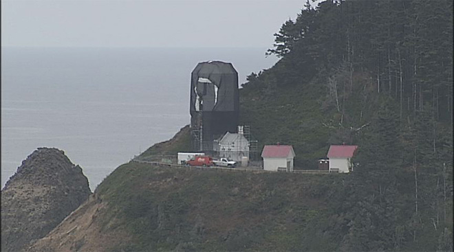 Heceta Head Lighthouse restoration work (6)
