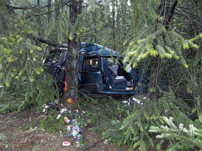 Woman seriously hurt in crash along Hwy 26