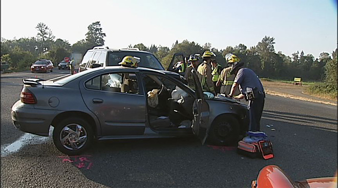 Highway 58 crash near Pleasant Hill on October 1