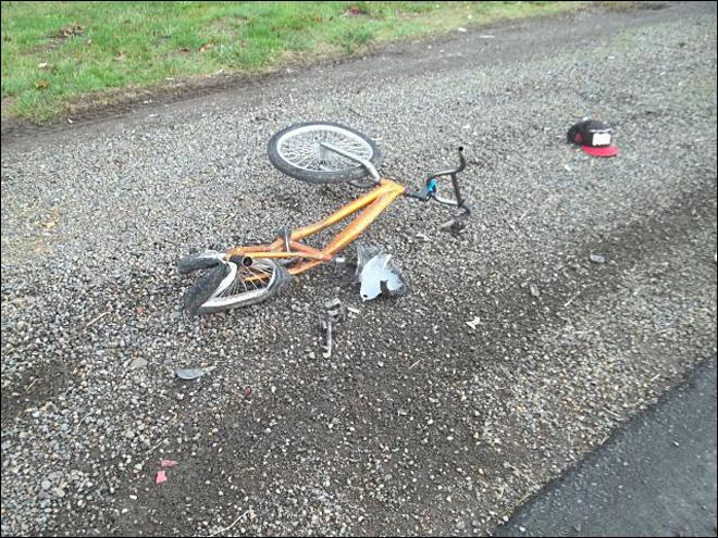 Highway 99 BMX Crash