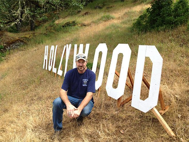 Roseburg man brings a little Hollywood to town
