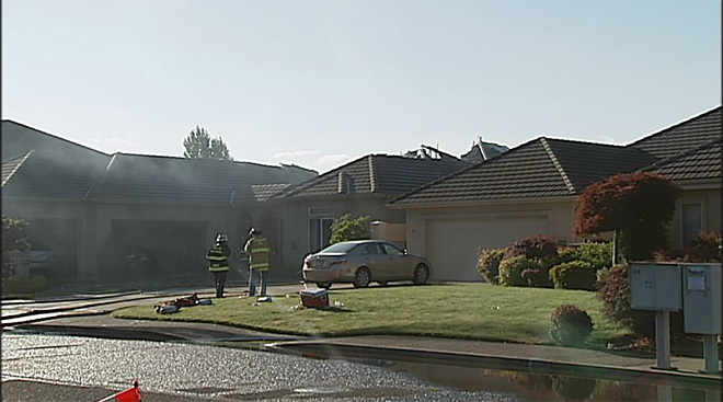 House destroyed by flames in north Eugene07