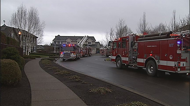 House fire in Eugene January 28 2013