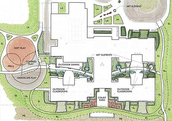 Get a look at proposed new Howard Elementary building
