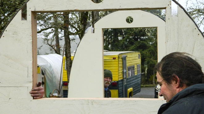 Huts for the homeless: 'It's very secure and very comfortable'