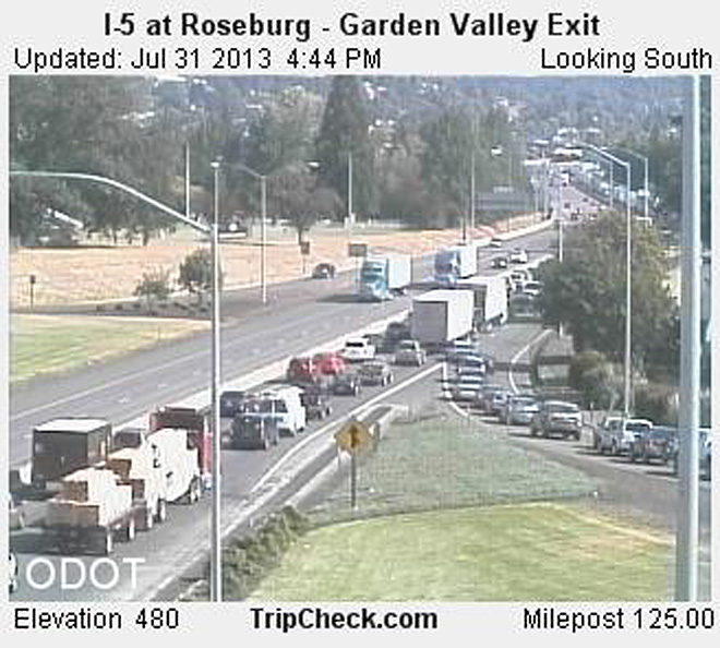 I-5 at Roseburg - Garden Valley Exit S_pid2408