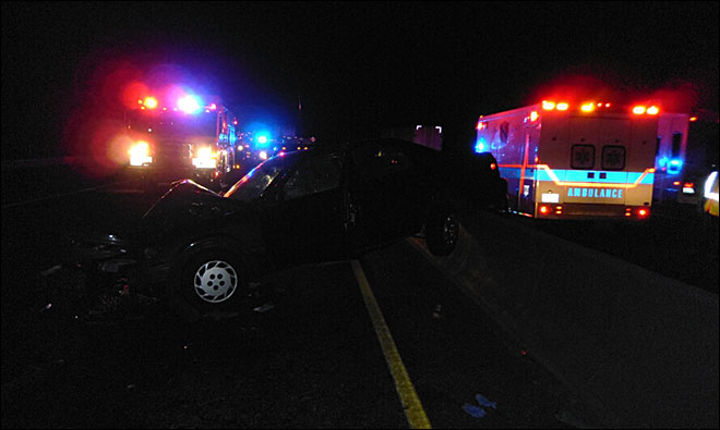 Man, 78, faces DUII charge after wrong-way crash on I-84