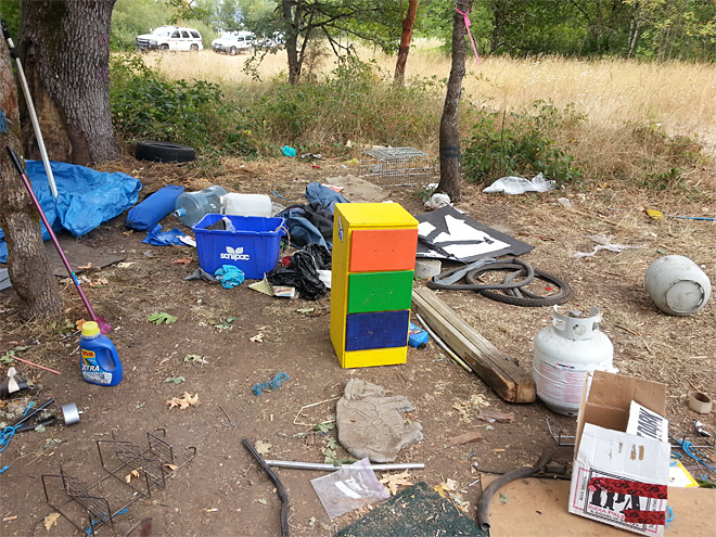 Illegal camp cleanup August 1 (1)