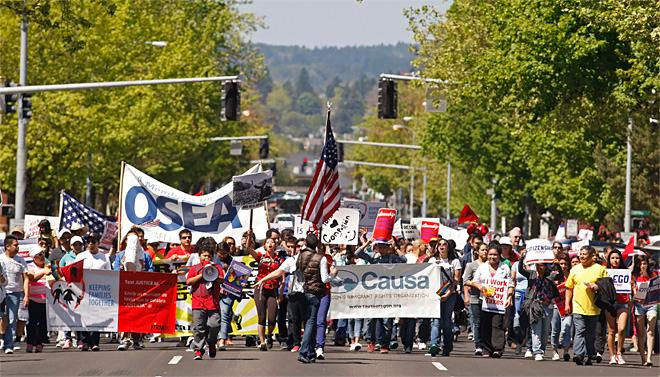Immigration Rally Oregon