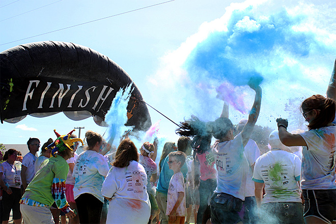 Color Dash 5k: 'It's going to bring out the kid in everybody'