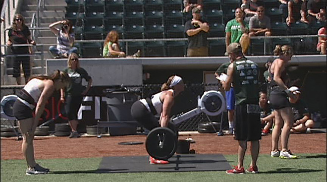 Athletes put to the test at Sasquatch Throwdown