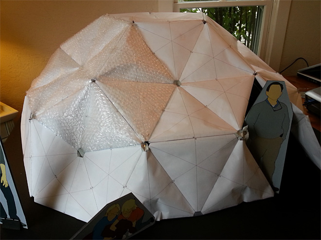 Home sweet dome? Eugene architect developing inflatable shelter