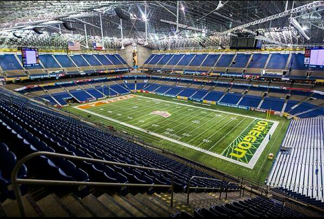 Inside the Alamo Dome - Photo by Tom Ward