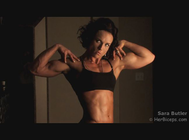 Inside the life of a female bodybuilder