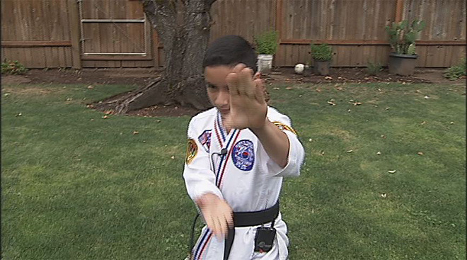 Taekwondo kid: 'I just thought I was going to be a Power Ranger'