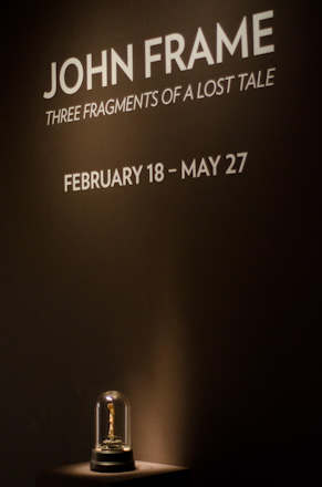 John Frame at Portland Art Museum