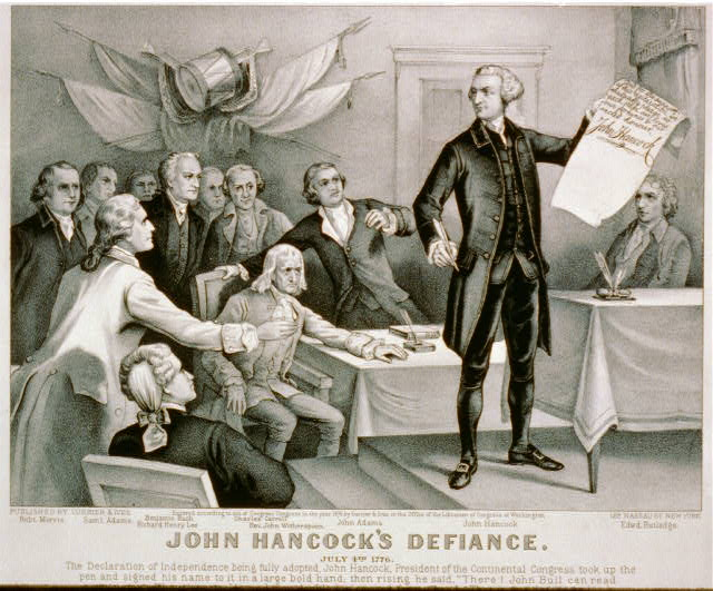 Founding Father: John Hancock