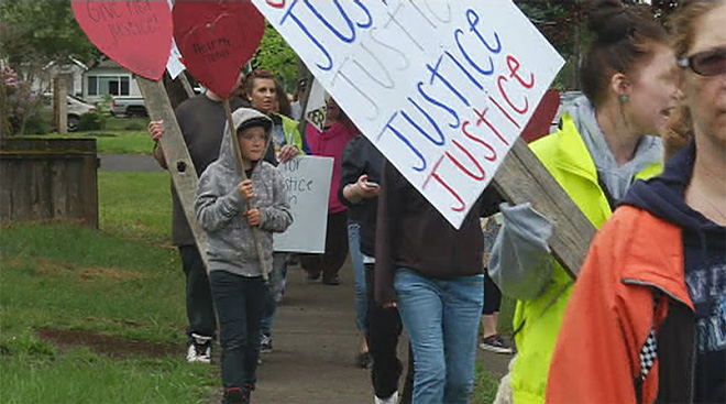 Justice 4 Love - Police look for suspect in brutal beating of Springfield girl 11