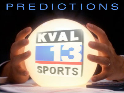 KVAL Predictions: Two for the road