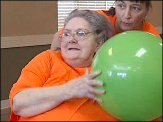 March Madness comes to nursing home