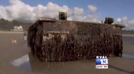 Bids are in for removal of Japanese dock from Oregon beach