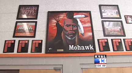 KVAL_Mohawk_High_School_mascot