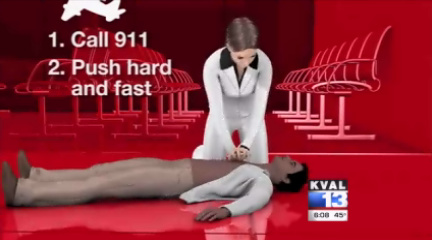New CPR increases survival rate threefold