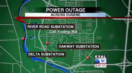 Some businesses close - others stay open - during power outage