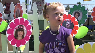 Four-year-old captures hearts at Relay for Life