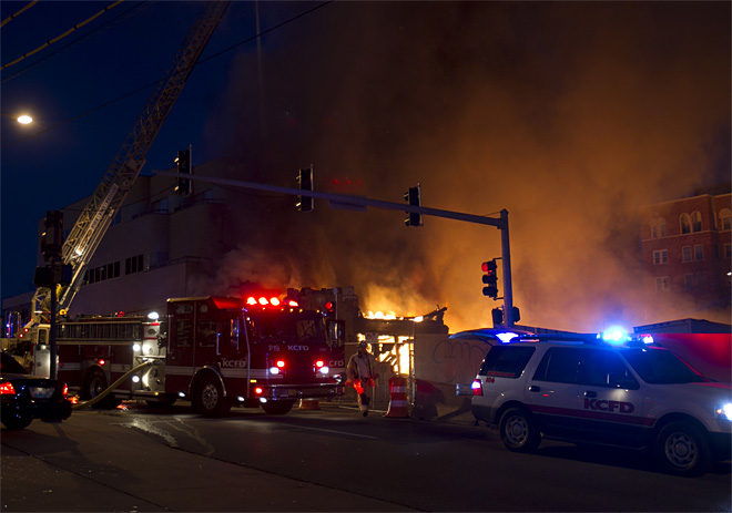 Kansas City Plaza Fire
