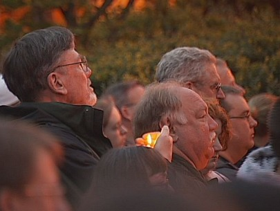Photo Gallery: Officer Kilcullen candlelight vigil
