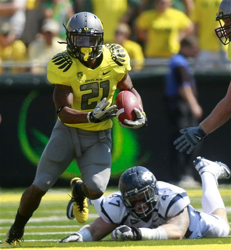 Oregon James Football