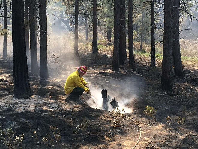 Lakeview BLM crew on Two Bulls Fire