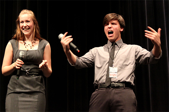 High School Vocal Showdown: 'That stage - he owned it'