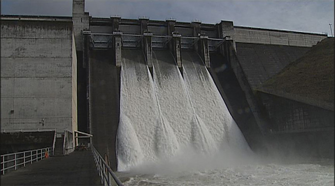 Lookout Point Dam releases water into the Willamette after February storms- 01