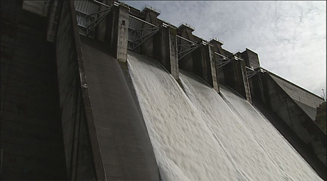 Lookout Point Dam releases water into the Willamette after February storms- 06