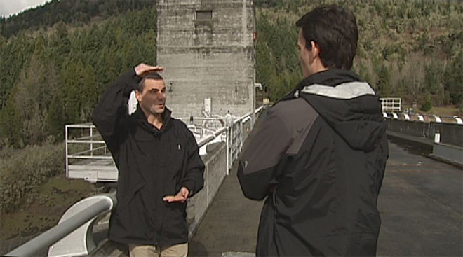 Lookout Point Dam releases water into the Willamette after February storms- 10