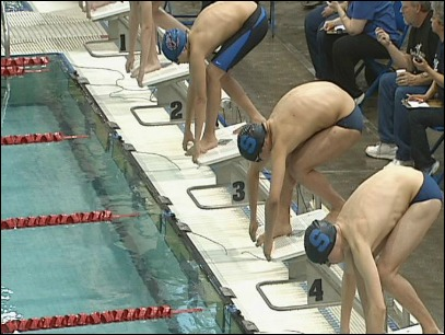 Midwestern League District Swimming: Day One