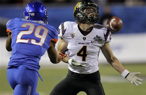 Boise State blows out ASU in Erickson's finale