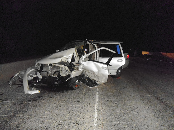 Man killed in head-on crash near Oregon-California border 02