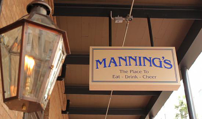 Manning's in New Orleans, Louisiana