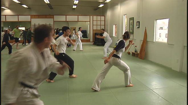 Martial arts conference turns black belts back into beginners