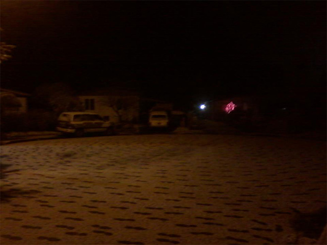 Matt Martin photo of snow in Springfield