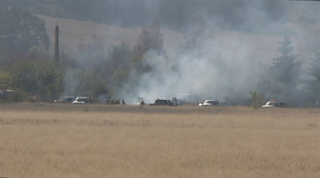 Crews burn prairie in West Eugene