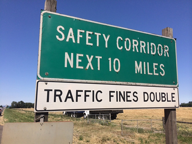 Hwy 34 Safety Corridor: Mission accomplished