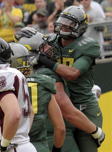 Missouri St Oregon Football