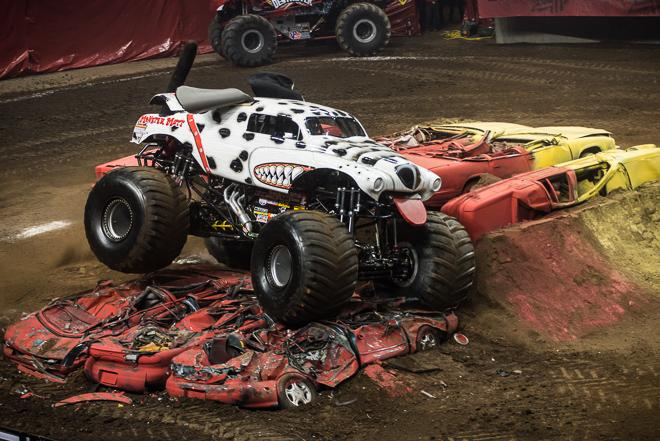 Monster Jam 2013 at the Rose Garden